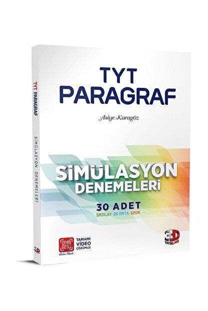 Tam Çözüm Yayınları 3d Tyt Simülasyon Paragraf Denemeleri Tamamı Video Çözümlü