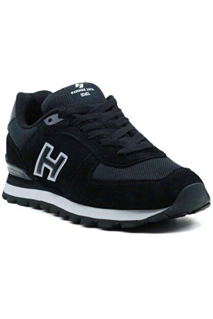 Hammer Jack Unisex Siyah Spor Ayakkabı