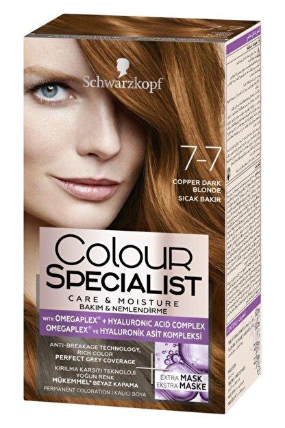 Colour Specialist Sıcak Bakır Saç Boyası 7-7