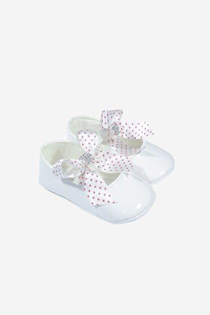 Funny Baby Lastikli Rugan Bebek Ayakkabısı