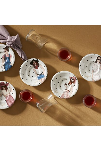 Karaca Pop Art 12 Parça Çay Seti