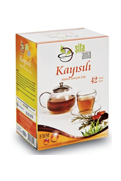 ŞİFA ANA Kayısılı Bitkisel Form  Karışım Çay