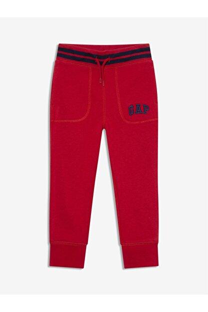 GAP Erkek Bebek Kırmızı Logo Jogger Eşofman Altı