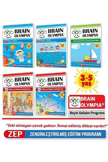 Yükselen Zeka Yayınları Brain Olympia ( Beş Kitap Bir Arada)
