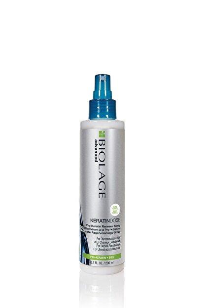 Biolage Keratindose Çok Yıpranmış Saçlar Için Pro-keratin Özlü Yenileyici Durulanmayan Saç Bakım Sütü 200 ml