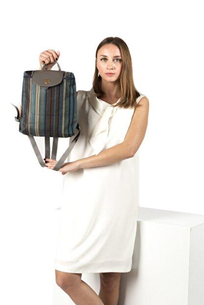 TH Bags Kadın / Kız Sırt Çantası Sırt Çizgili Kumaş - Th25300