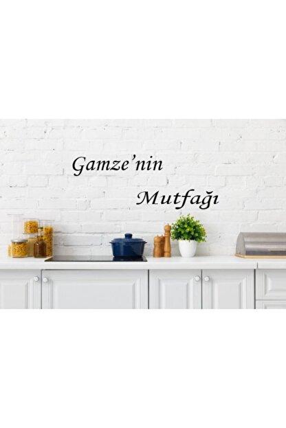 MO-KA HOME Gamzenin Mutfağı Isimli Mutfak Ahşap Duvar Dekoru