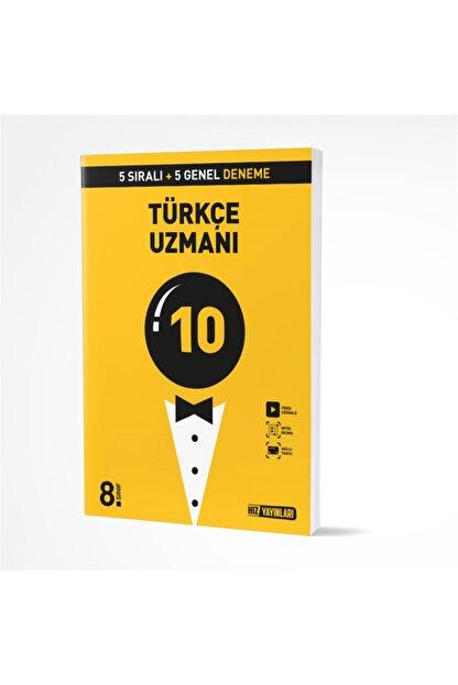 Hız Yayınları Uzman Deneme Türkçe 10