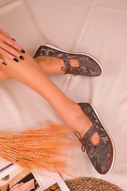 Soho Exclusive Platin Kadın Casual Ayakkabı 16101