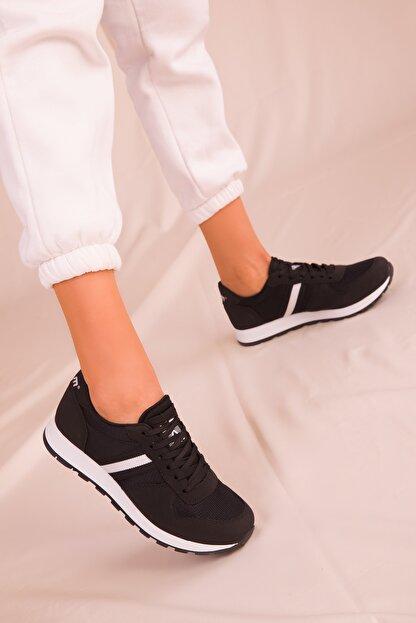 Soho Exclusive Siyah Kadın Sneaker 15277