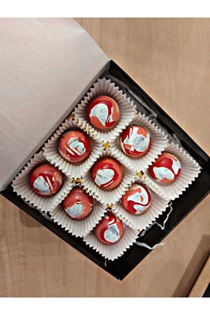 Dot Chocolate | Çilekli El Yapımı Belçika Çikolatası 9'lu