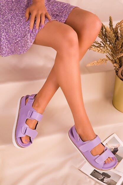 Soho Exclusive Lila Kadın Sandalet 16123
