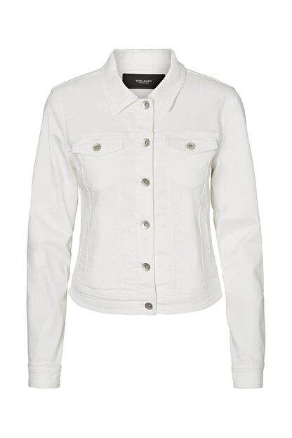 Vero Moda Kadın Beyaz Trençkot 10193085