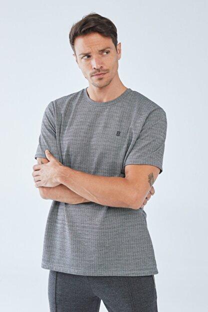 Boris Becker Erkek Kazayağı Desenli  T-shirt