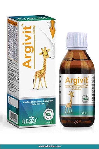 Argivit L-Arginin, Vitaminler ve Mineraller İçeren Takviye Edici Gıda 150ml