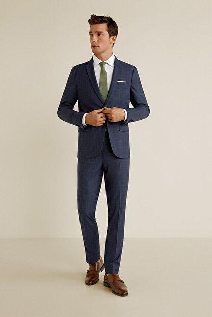 Mango Erkek Lacivert Pantolon 43020503