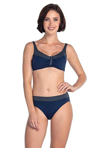 Dagi 19105bk Luplu Bikini Takımı Lacivert