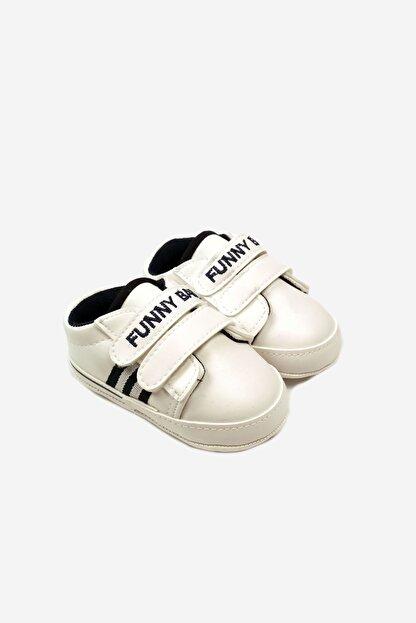 Funny Baby Lastikli Cırtlı Çocuk Yürüyüş Ve Spor Ayakkabısı