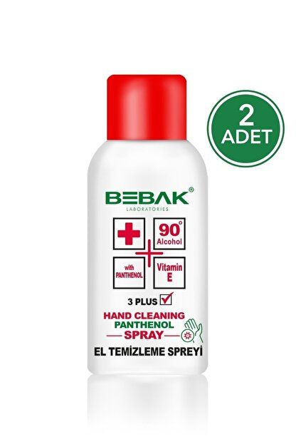 Bebak Sprey El Dezenfektanı 150 ml 2 Adet