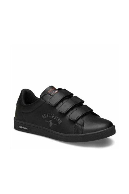 US Polo Assn SINGER Siyah Kadın Sneaker Ayakkabı 100486446