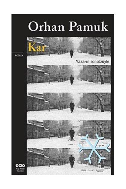 Yapı Kredi Yayınları Kar - Orhan Pamuk