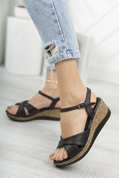 Life is Shoes Arora Yazlık Dolgu Tokalı Kadın Sandalet