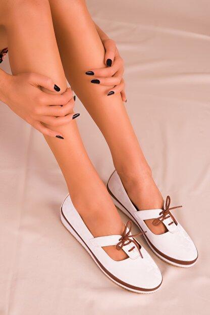 Soho Exclusive Beyaz Kadın Casual Ayakkabı 16101