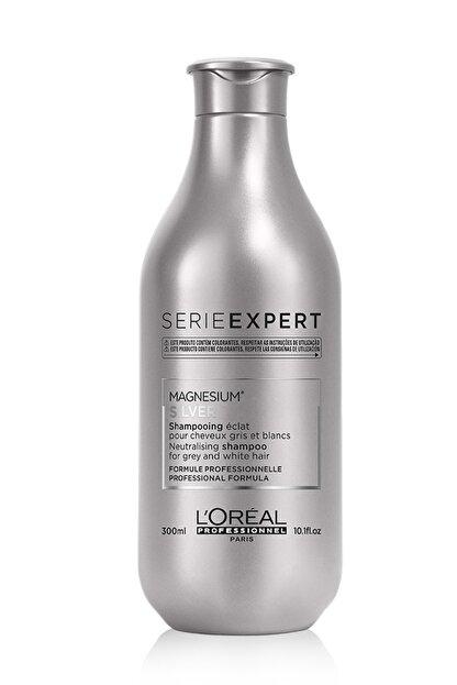 L'oreal Professionnel Serie Expert Silver Çok Açık Sarı Gri Ve Beyaz Saçlar İçin Renk Dengeleyici Mor Şampuanı 300 ml