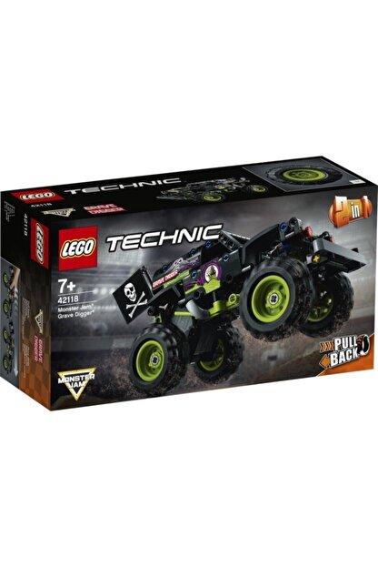 LEGO Technic 42118 Monster Jam Grave Digger 212 Parça 7 Yaş