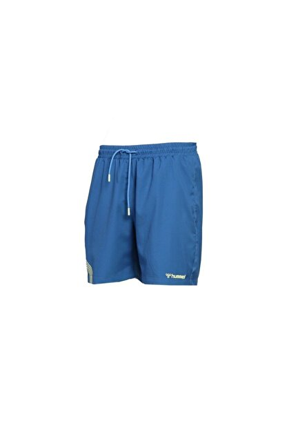 HUMMEL Erkek Mavi Hmlseki Swim Shorts