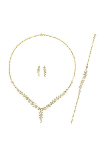 Altınbaş Kadın Altın Üçlü Set SET-TTKIMY0679-25331