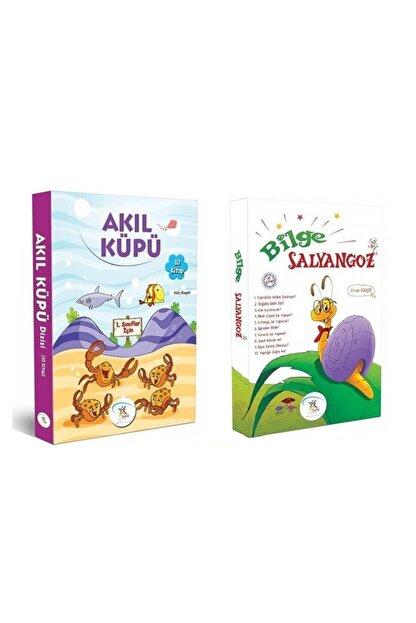 5 Renk Yayınları 1. Sınıf Hikaye Kitabı Seti 20 Kitap Akıl Küpü Bilge Salyangoz