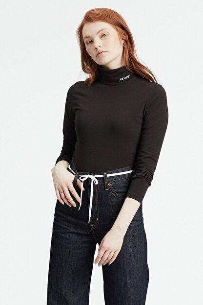 Levi's Kadın Balıkçı Yaka Sweatshirt 77629-0001