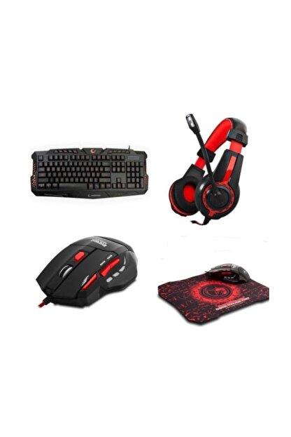 Rampage Klavye Mouse Kulaklık Gaming Oyuncu Set