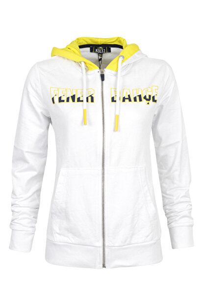 Fenerbahçe Kadın Kolej Üç Kapşonlu Sweat