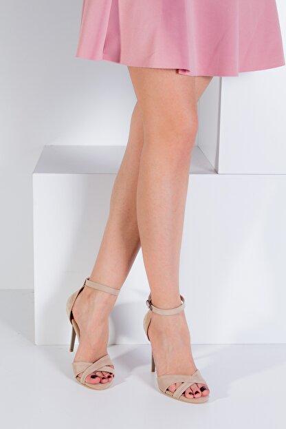 Fox Shoes Ten Kadın Topuklu Ayakkabı B922113702