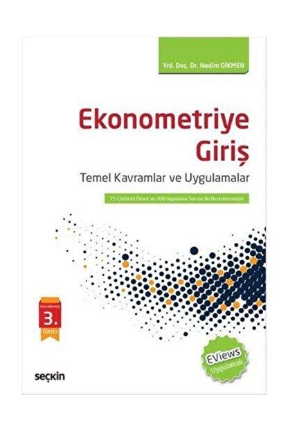 Seçkin Yayıncılık Ekonometriye Giriş