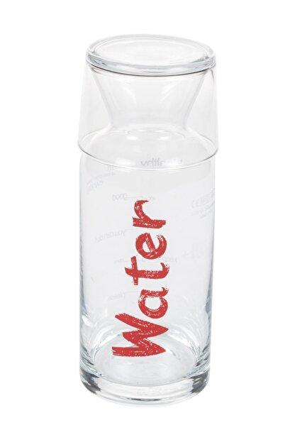 Mudo Concept Water Kırmızı Kapaklı Başucu Sürahisi - 700 Ml