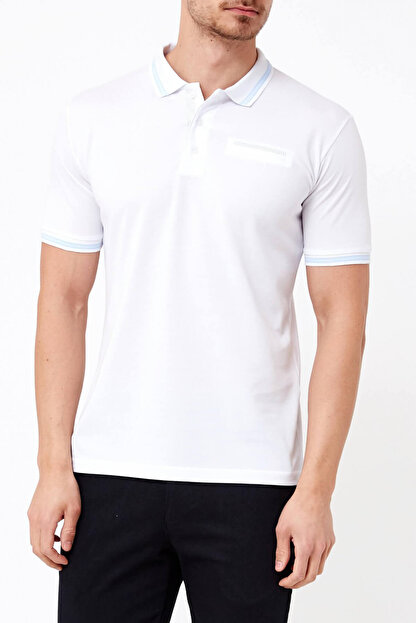 Adze Basic Düz Polo T-Shirt-33998