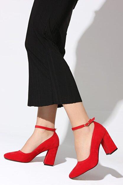 Rovigo Kırmızı Kadın Topuklu Ayakkabı 11112014189-2-03
