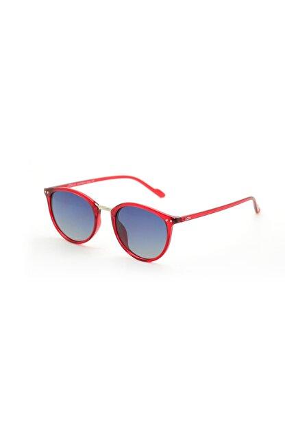 LOOKlight Olympos Jelly Red Unisex Güneş Gözlüğü LL1910 / 15 / LPU9
