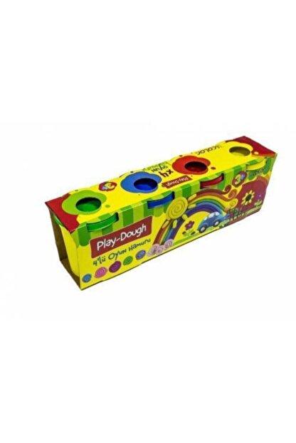 Play Dough Colorbank Renkli Oyun Hamuru 4lü