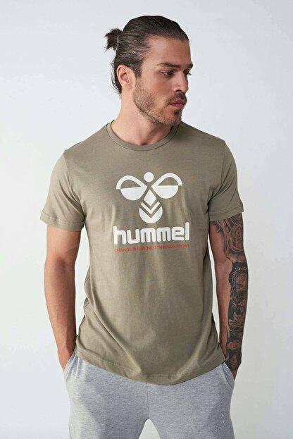 HUMMEL HMLCENTIL T-SHIRT S/S Yeşil Erkek T-Shirt 101086300