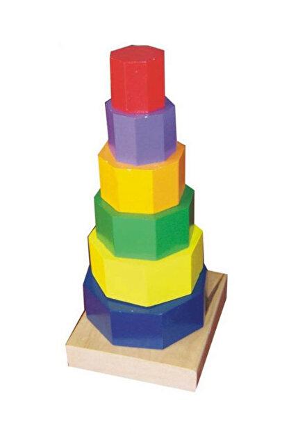 Eksen Ahşap Geometrik Kule /