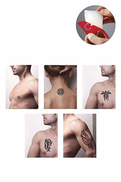 one spray tattoo tribal desenler dovmesi dovme sablonu ve kina desenleri 5 adet fiyati yorumlari trendyol