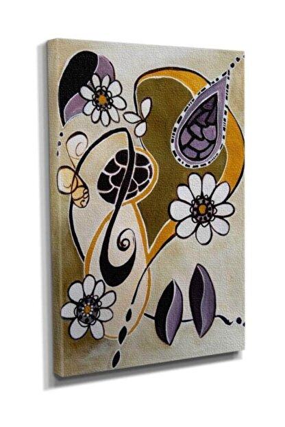 Dekor Sevgisi Çiçek Deseni Tablosu 45x30 DTC145301435