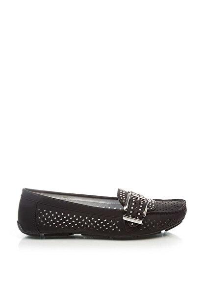 Derimod Siyah Kadın Loafer