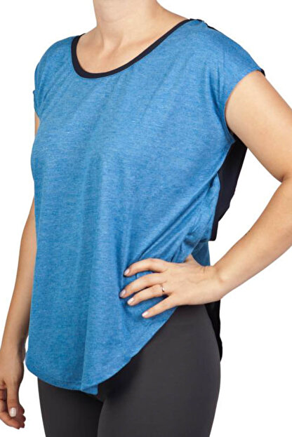 Exuma Kadın T-Shirt - Royal Blue Spor T-Shirt - 362203