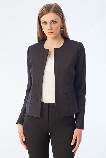Naramaxx Kadın Siyah Ceket 16Y11111Y208
