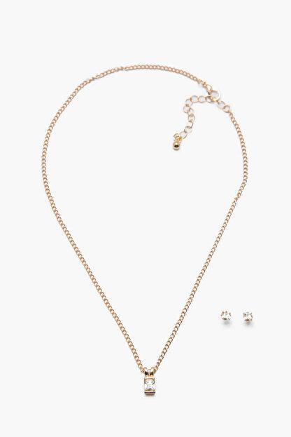 Koton Kadın Gümüş Bijuteri Kolye 7KAK79020AA